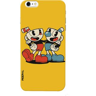PEEPAL iPhone6-6s Designer & Printed Case Cover 3D Printing Weird Cartoon Design