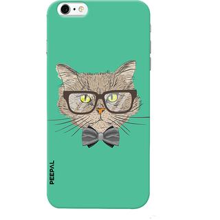 PEEPAL iPhone6-6s Designer & Printed Case Cover 3D Printing Gentelman Cat Design