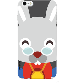 PEEPAL iPhone6-6s Designer & Printed Case Cover 3D Printing Happy Rabbit Design
