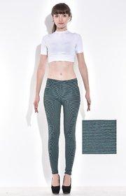 Ankle Length Striped Semi-Thermal Bottomwear
