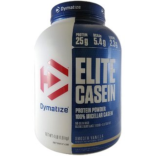 fbb107018 Dymatize Nutrition Elite Casein Powder 4 lbs Vanilla available at ShopClues  for Rs.5499