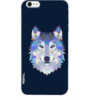 PEEPAL iPhone6-6s Designer & Printed Case Cover 3D Printing Artist Wolf Design