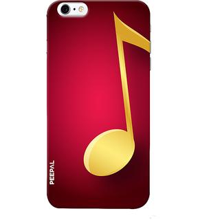 PEEPAL iPhone6-6s Designer & Printed Case Cover 3D Printing Music Sign Design