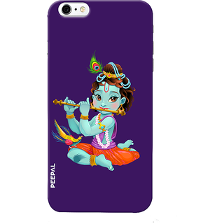PEEPAL iPhone6-6s Designer & Printed Case Cover 3D Printing Krishna Design