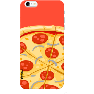 PEEPAL iPhone6-6s Designer & Printed Case Cover 3D Printing Pizza Design