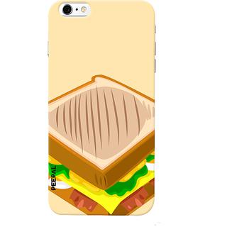 PEEPAL iPhone6-6s Designer & Printed Case Cover 3D Printing Sandwitch Design