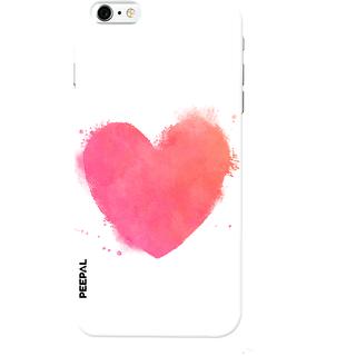 PEEPAL iPhone6-6s Designer & Printed Case Cover 3D Printing Love Design