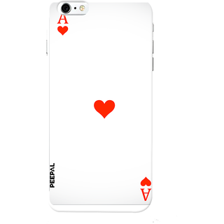 PEEPAL iPhone6-6s Designer & Printed Case Cover 3D Printing Card of Ace Design