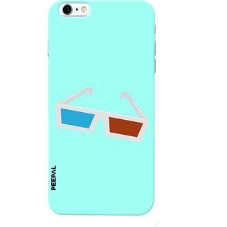 PEEPAL iPhone6-6s Designer & Printed Case Cover 3D Printing 3D Glasses Design