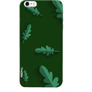 PEEPAL iPhone6-6s Designer & Printed Case Cover 3D Printing Leaf Design