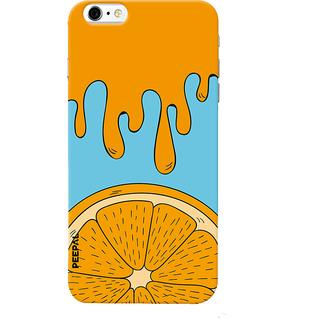 PEEPAL iPhone6-6s Designer & Printed Case Cover 3D Printing Orange Design