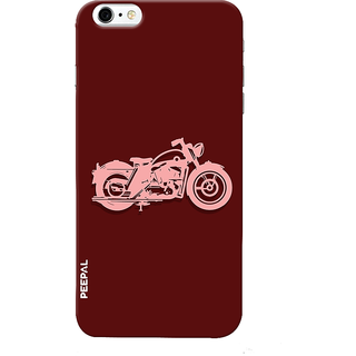 PEEPAL iPhone6-6s Designer & Printed Case Cover 3D Printing Motorcycle Design