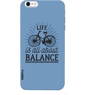 PEEPAL iPhone6-6s Designer & Printed Case Cover 3D Printing Balance Design