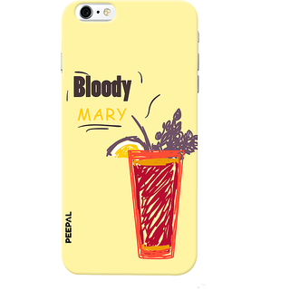 PEEPAL iPhone6-6s Designer & Printed Case Cover 3D Printing Cocktail Design