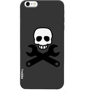 PEEPAL iPhone6-6s Designer & Printed Case Cover 3D Printing Danger Design
