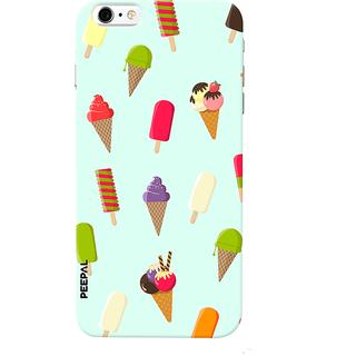 PEEPAL iPhone6-6s Designer & Printed Case Cover 3D Printing Ice Cream Love Design