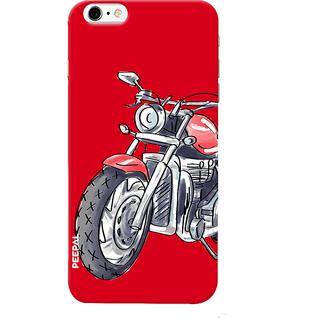 PEEPAL iPhone6-6s Designer & Printed Case Cover 3D Printing Ride Motorcycle Design
