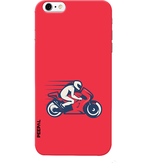 PEEPAL iPhone6-6s Designer & Printed Case Cover 3D Printing Rider  Design