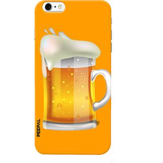 PEEPAL iPhone6-6s Designer & Printed Case Cover 3D Printing Beer Mug  Design