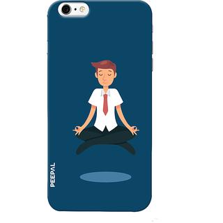PEEPAL iPhone6-6s Designer & Printed Case Cover 3D Printing Corporate Yoga Design