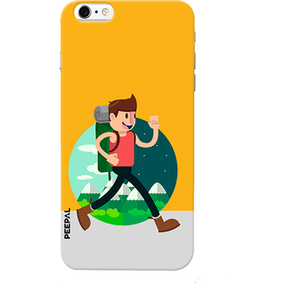 PEEPAL iPhone6-6s Designer & Printed Case Cover 3D Printing Going College Design