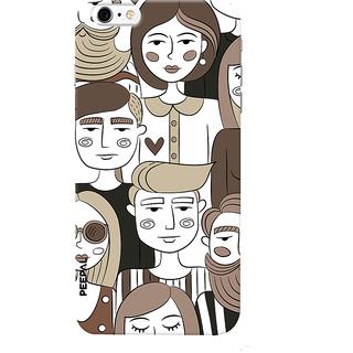 PEEPAL iPhone6-6s Designer & Printed Case Cover 3D Printing Random Peopal Design