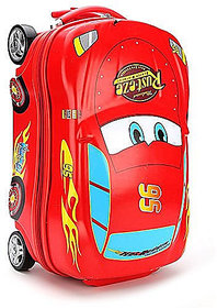 Kids car shape cabin luggage - 18 red