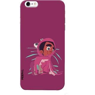PEEPAL iPhone6-6s Designer & Printed Case Cover 3D Printing Confuse Design