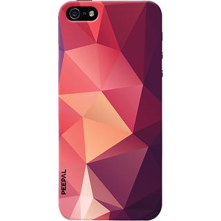PEEPAL iPhone5-5s Designer & Printed Case Cover 3D Printing Art Multi Colour Design