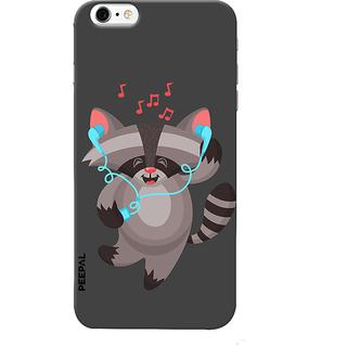 PEEPAL iPhone6-6s Designer & Printed Case Cover 3D Printing Dancing Cat Design
