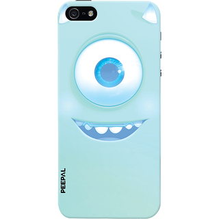 PEEPAL iPhone5-5s Designer & Printed Case Cover 3D Printing Happy Eye Design