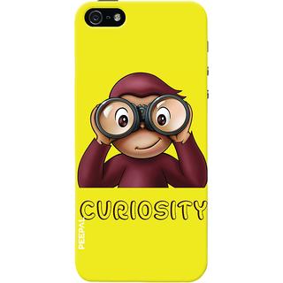 PEEPAL iPhone5-5s Designer & Printed Case Cover 3D Printing Monkey Curiosity Design