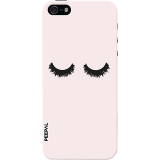 PEEPAL iPhone5-5s Designer & Printed Case Cover 3D Printing Lonely Eyes Design