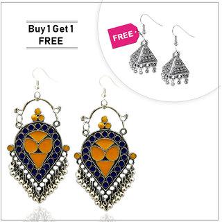 JewelMaze Buy 1 Earring And Get 1 Free-1003344