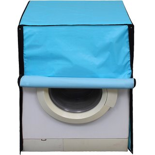Glassiano SkyBlue Colored Washing Machine Cover For LG F10E3NDL2 Front Load 6 Kg