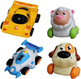 Toys Factory Set Of 2 Animal ProductSet Of 2 Racing Car