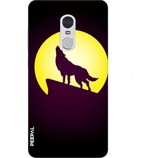 PEEPAL Note 4 Designer & Printed Case Cover 3D Printing Wolf Design