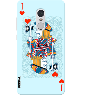 PEEPAL Note 4 Designer & Printed Case Cover 3D Printing Card of Jack Design