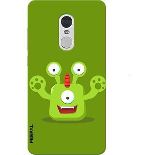PEEPAL Note 4 Designer & Printed Case Cover 3D Printing Cartoon Design