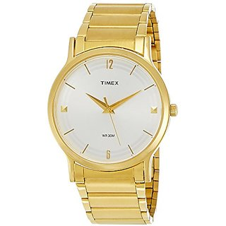 Timex Classics Analog White Dial Mens Watch - TI000R40600