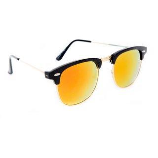 7e8f0a37cc Buy TheWhoop Mirror Orange Clubmaster Wayfarer Unisex Sunglasses For Mens