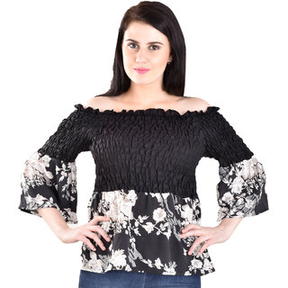 7fed9638250de Buy Off Shoulder Top Online   ₹999 from ShopClues