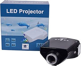 ABB 50 Lm LED Corded Portable Projector  (Black)
