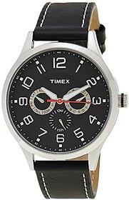 Timex Fashion Analog Black Dial Mens Watch - TW000T305