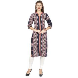 194540d311b Buy Prom Girl Women s Navy Blue Traditional Kurti Online   ₹1219 ...