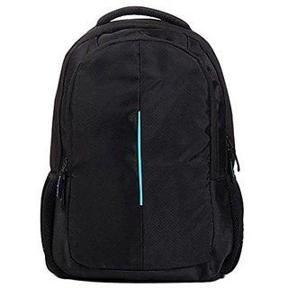 Blue line black laptop bag