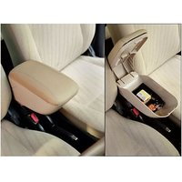 Car Armrest Console Beige For All Cars - Universal Armr