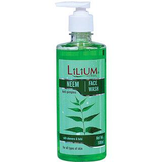 Lilium Neem Face Wash 500ml