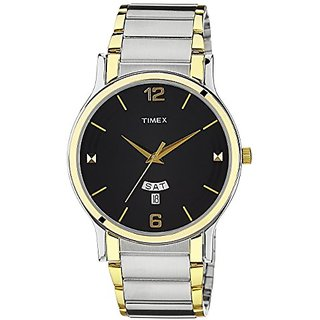 Timex Classics Analog Black Dial Mens Watch - TW000R425
