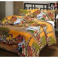 Sd Traders Traditinal Rajasthani Gadariya Print Micro Polycotton Ac Blanket Dohar Single Bed